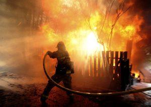сложная пожароопасная обстановка