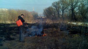 Контроль пожарной обстановки
